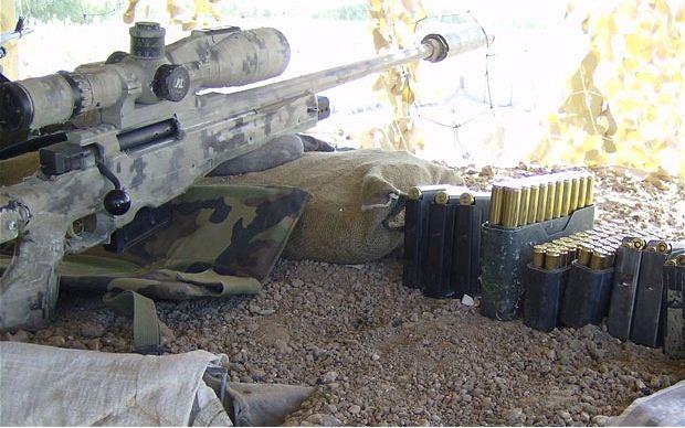 Современные снайперы в Афганистане