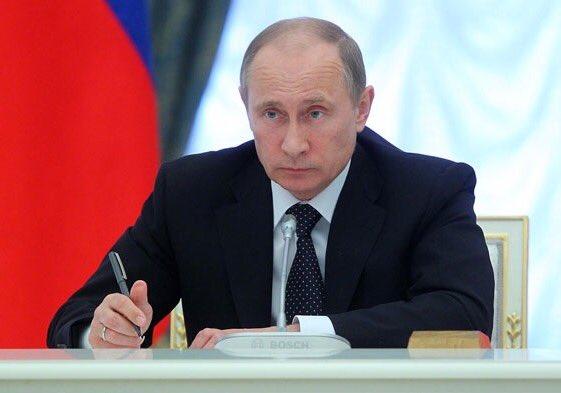 Путин подписал указ о спец. экономических мерах