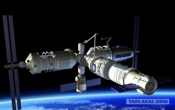 Китай потерял контроль над своей орбитальной станцией