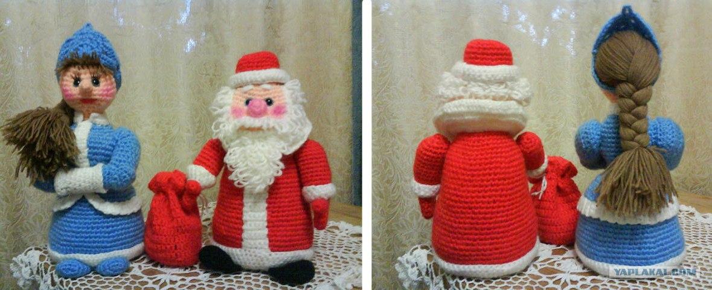 Дед мороз для вязания