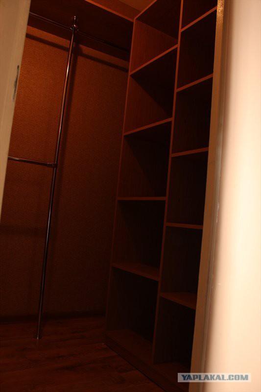 Как я сделал гардеробную в хрущевке 901
