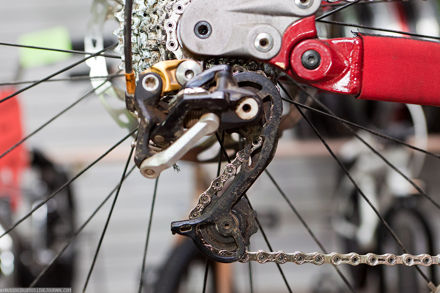 Замена цепи велосипеде своими руками