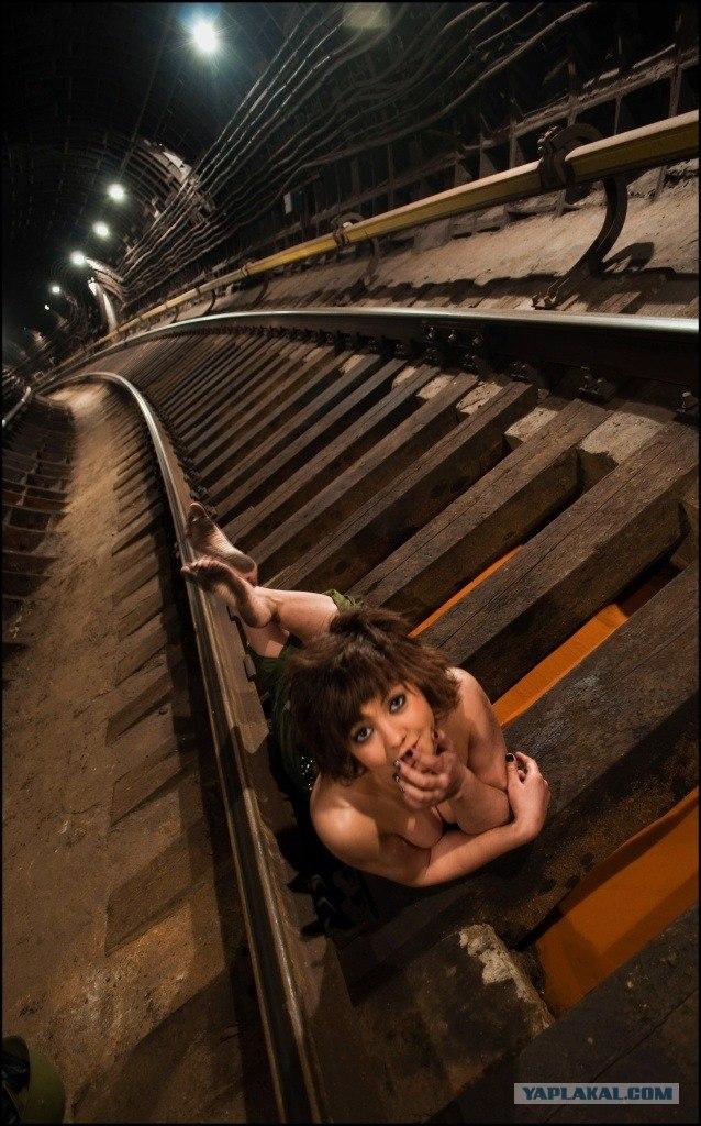 Фотосет в Московском метро