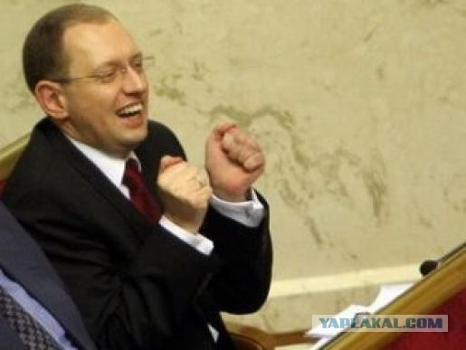 Яценюк предлагает план экономического роста Украин