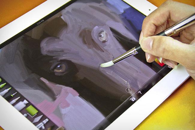 Можно ли на планшете рисовать пером