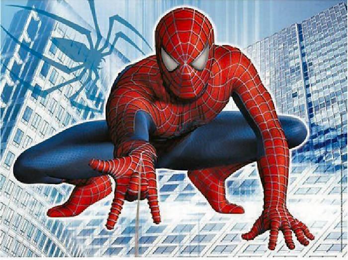 картинка человек паук и злодеи