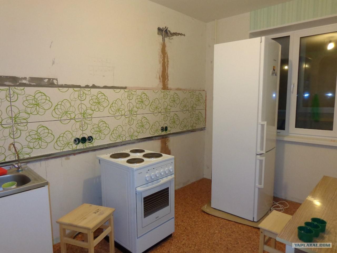 Делать ремонт на кухне фото