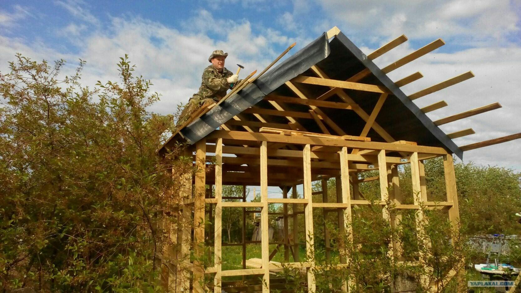 Как построить дом из досоксвоими руками