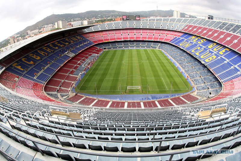 Величайшие стадионы Европы(10 фото + текст)