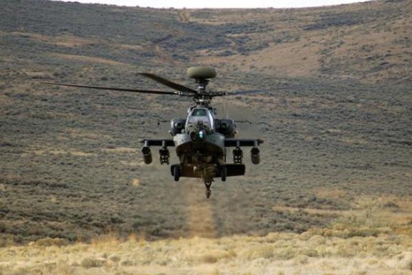 Разбился ударный вертолёт США, пилоты погибли
