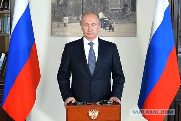 Путин обогнал Обаму в рейтинге Time