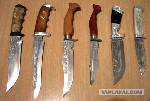 Фото как сделать охотничий нож своими руками