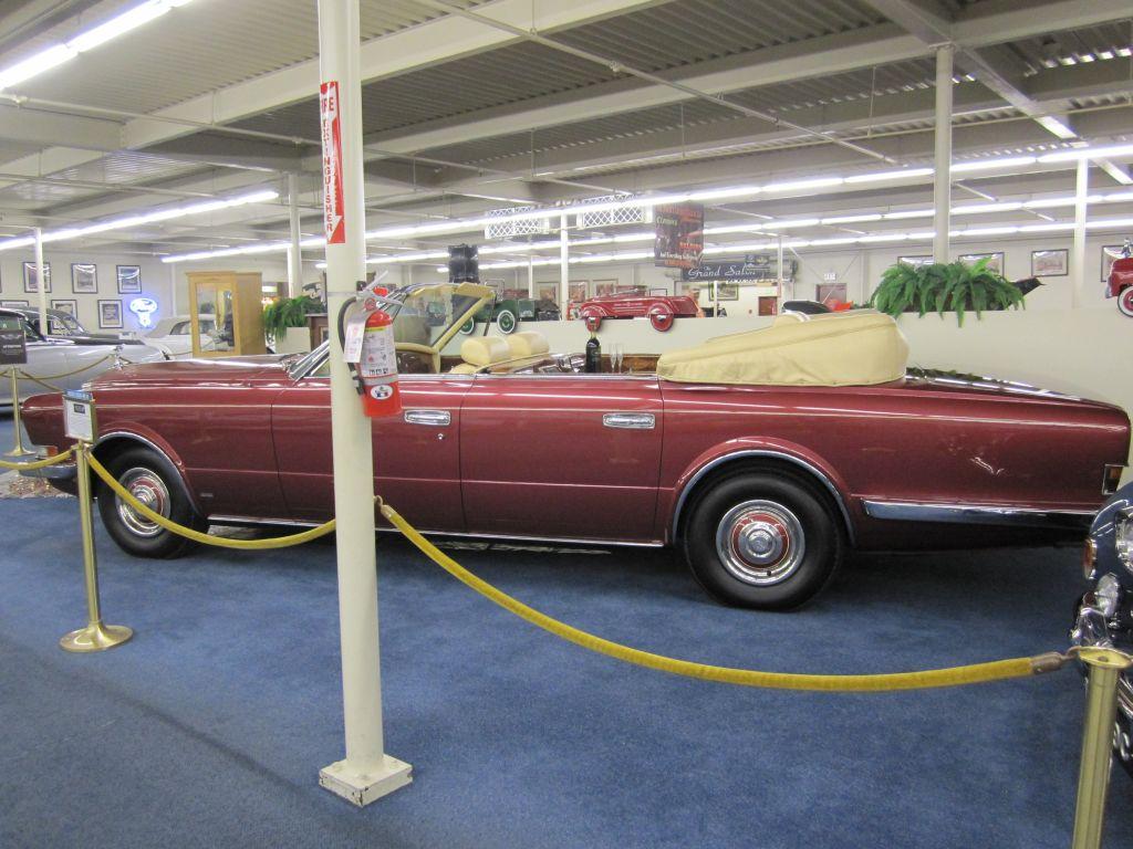 Выставка редких автомобилей в Лас-Вегасе.