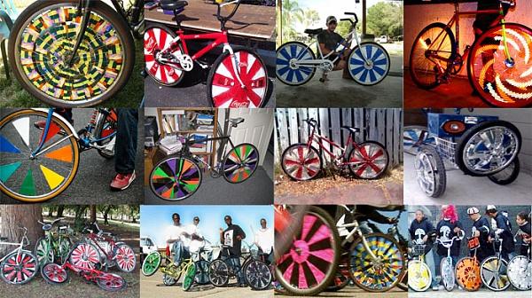 Велосипедные диски своими руками