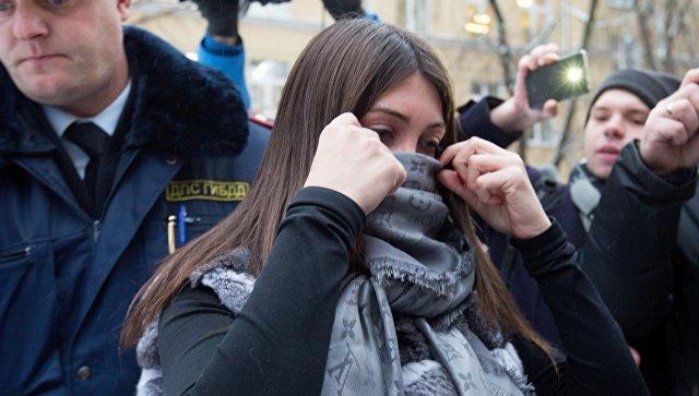 "Стритрейсерша Багдасарян заявила, что собиралась идти работать ""в ментуру"""