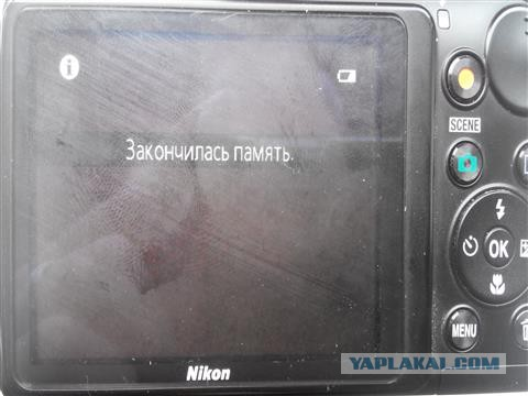 Ремонтируем фотоаппарат Nikon L110