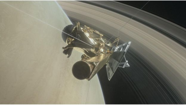 Перед смертью зонд Cassini раскрыл возраст колец Сатурна