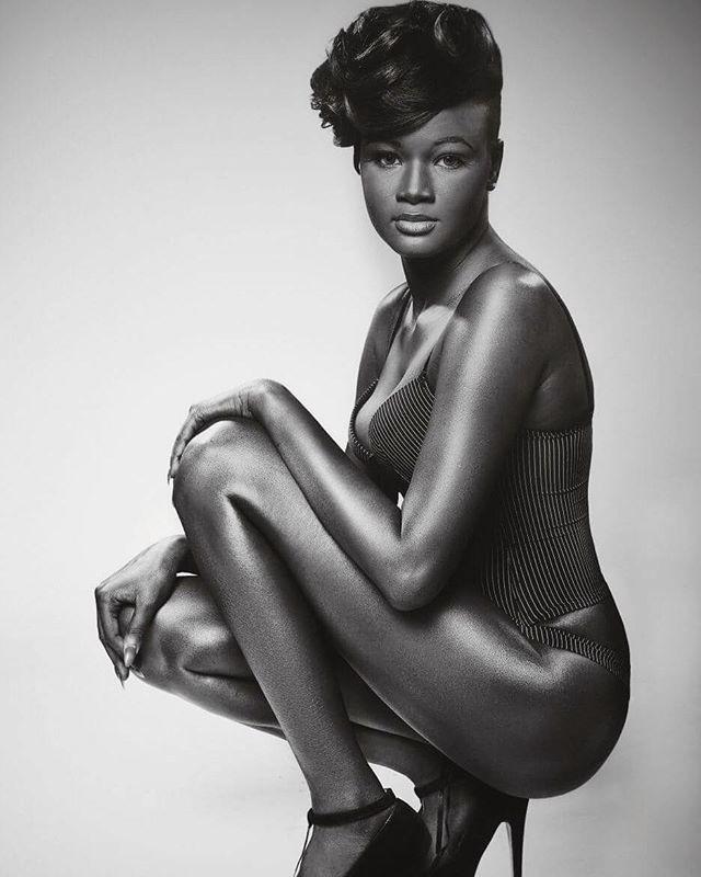 Cамая темнокожая модель в мире