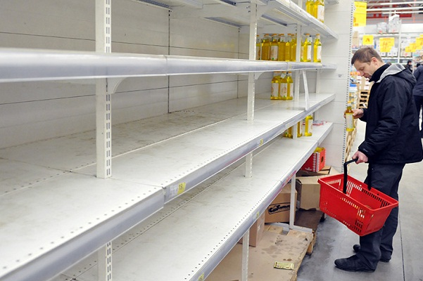 Торговые сети опасаются дефицита продуктов из-за законопроекта Яровой