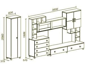 инструкция по сборке стенка белла - фото 9