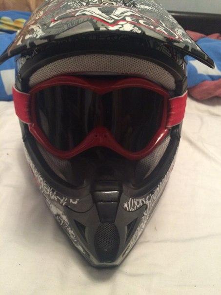 Продам шлем мотоциклетный