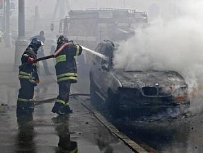 В Москве сожгли 9 машин с кавказскими номерами