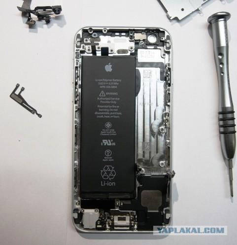 iPhone 6: разбираем в Москве, оцениваем