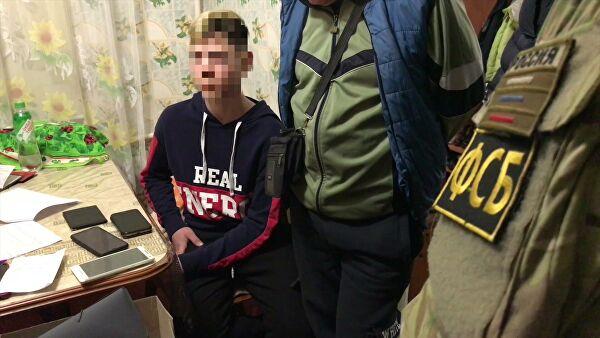ФСБпресекла вКерчи теракты, готовившиеся подростками вобразовательных учреждениях