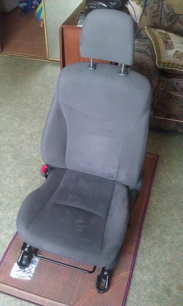 Постирать сиденья - проще простого