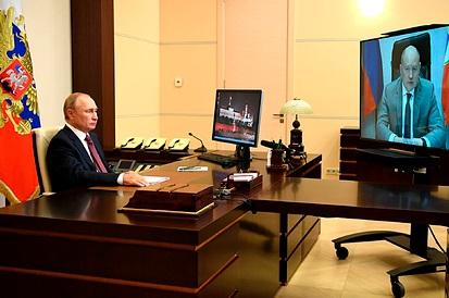 Путин пообещал дать воду в Крым