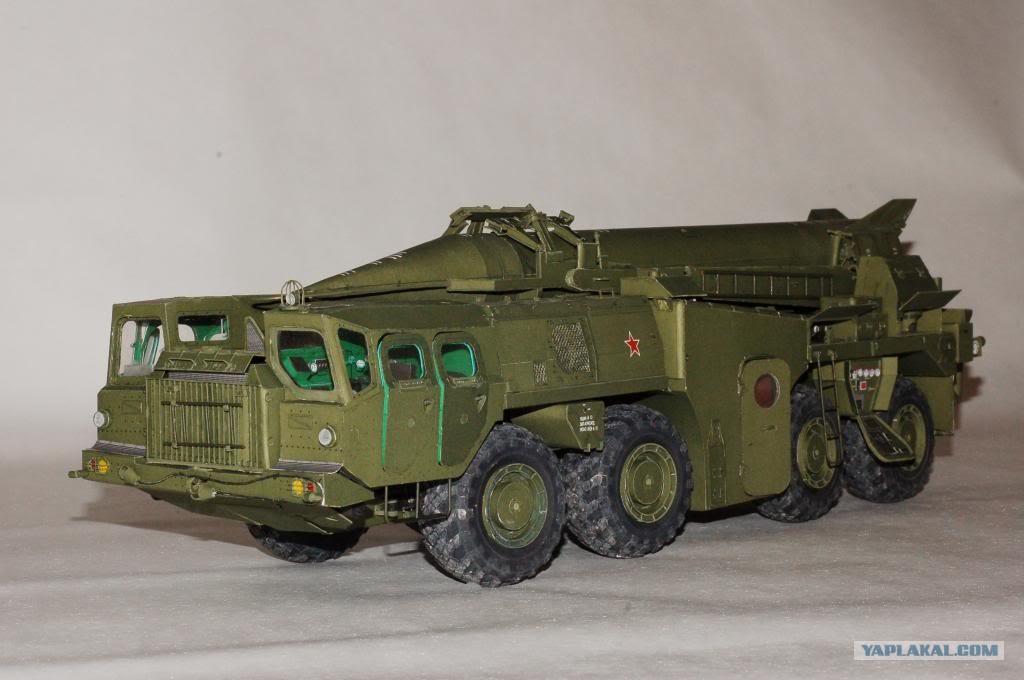 Танк ИС-2 из бумаги - точная