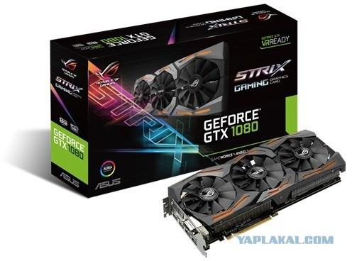 Asus GeForce GTX 1080 ROG STRIX-GTX1080-8G-GAMING 8192 Mb