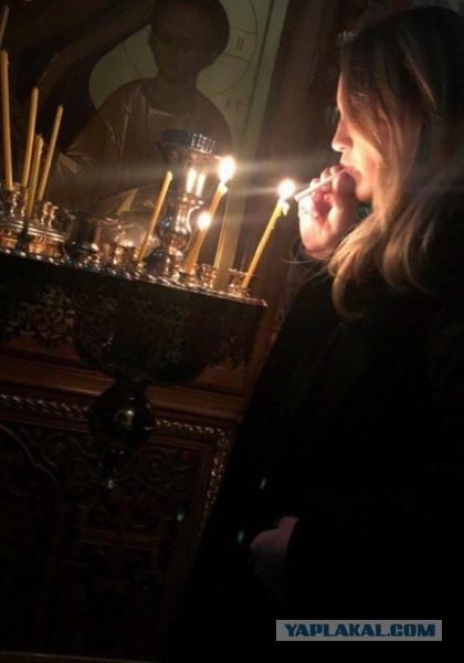 В Магнитогорске подростки прикурили от свечи в храме