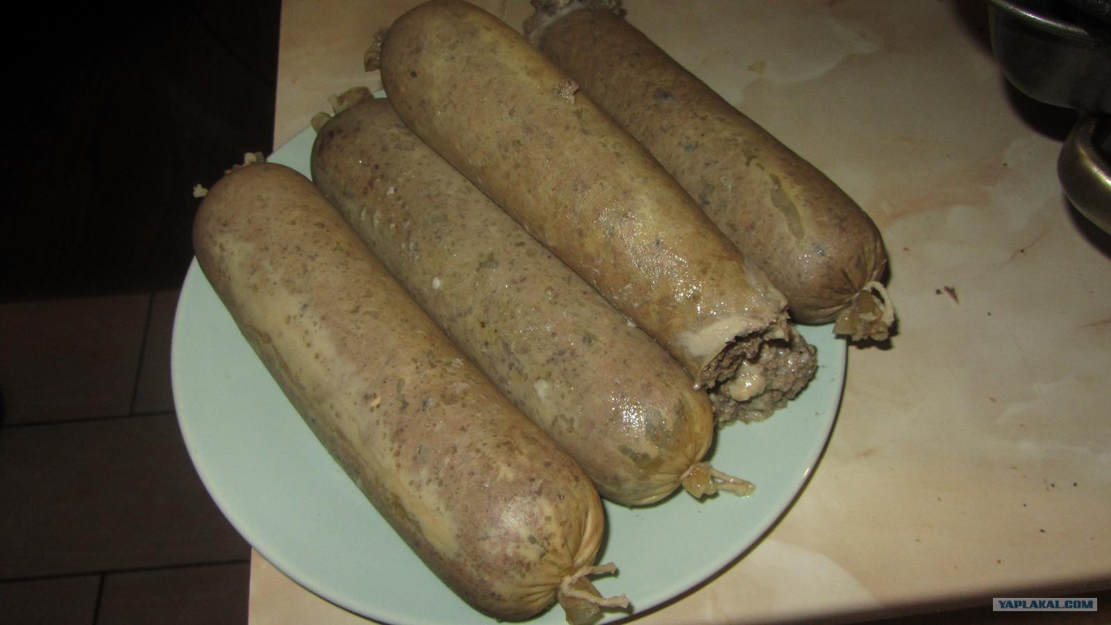 Колбаса своими руками в духовке