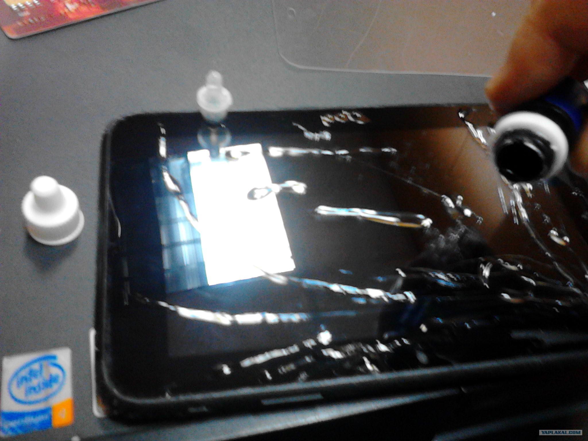 Как сделан экран планшета