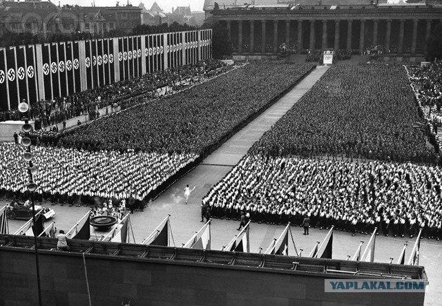 История нацистской Олимпиады.Берлин-36 год