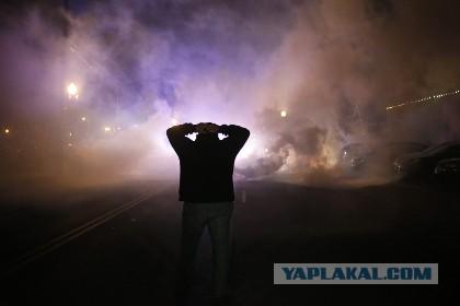 В Фергюсоне начались столкновения с полицией