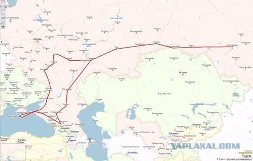 Новосибирск — Кавказ — Крым на мотоцикле в 2014-м
