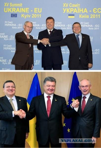 Янукович требует от Евросоюза признать его