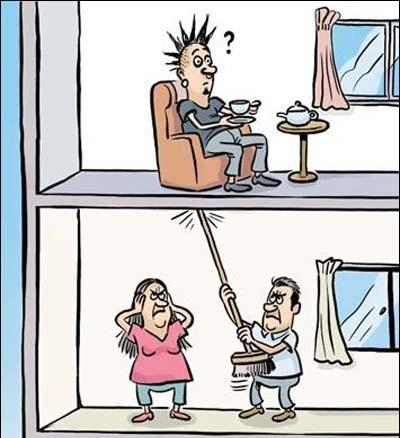 Стереотипное мышление соседей