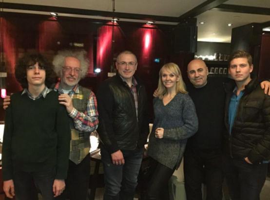 Валерия и Пригожин с Ходорковским