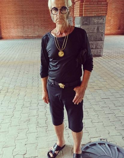 Гламурный дед. Пенсионер изХабаровска стал секс-символом