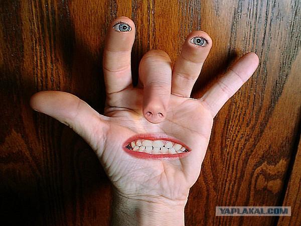 фото члена с жестом