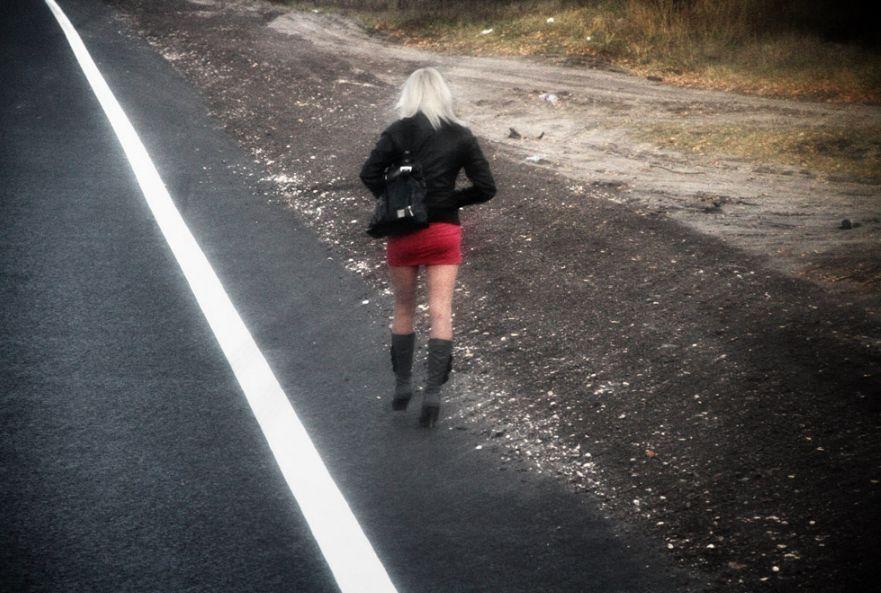 Съем на дорогах проституток против