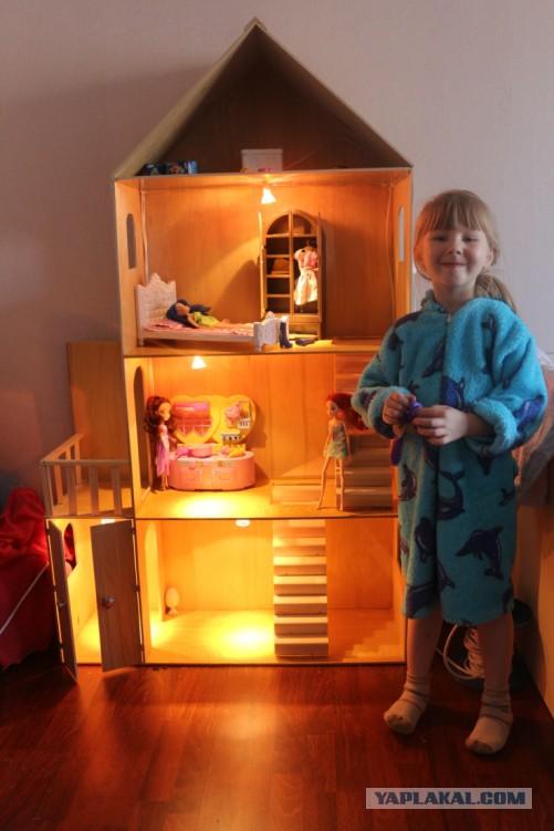 Как сделать домик своими руками для дочки 1