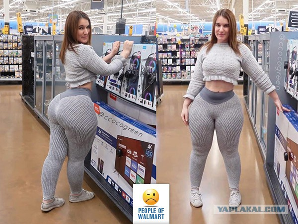 Пятничный Walmart. Подборка покупательниц