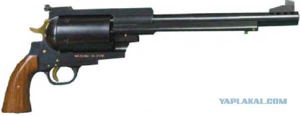 Самый мощный револьвер в мире. (5 фото + видео)