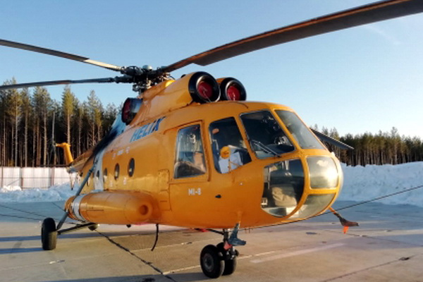 Обстреляли вертолет с топливом для полигона в Шиесе