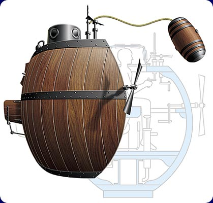 a history of military submarines crafted by david bushnell 21-12-2015 idn take: a brief history on the evolution of submarines monday, november 23, 2015 by indiandefense news the world's first functional submarine.