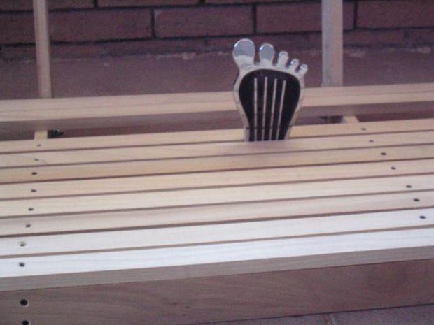 Качели - скамейка своими руками